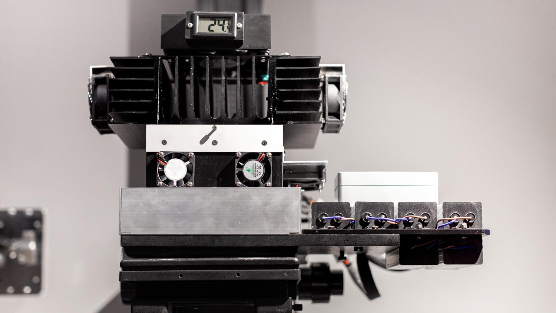 «Франкинштейн» Фотоувеличитель на базе LPL для проекционной печати платины-палладия