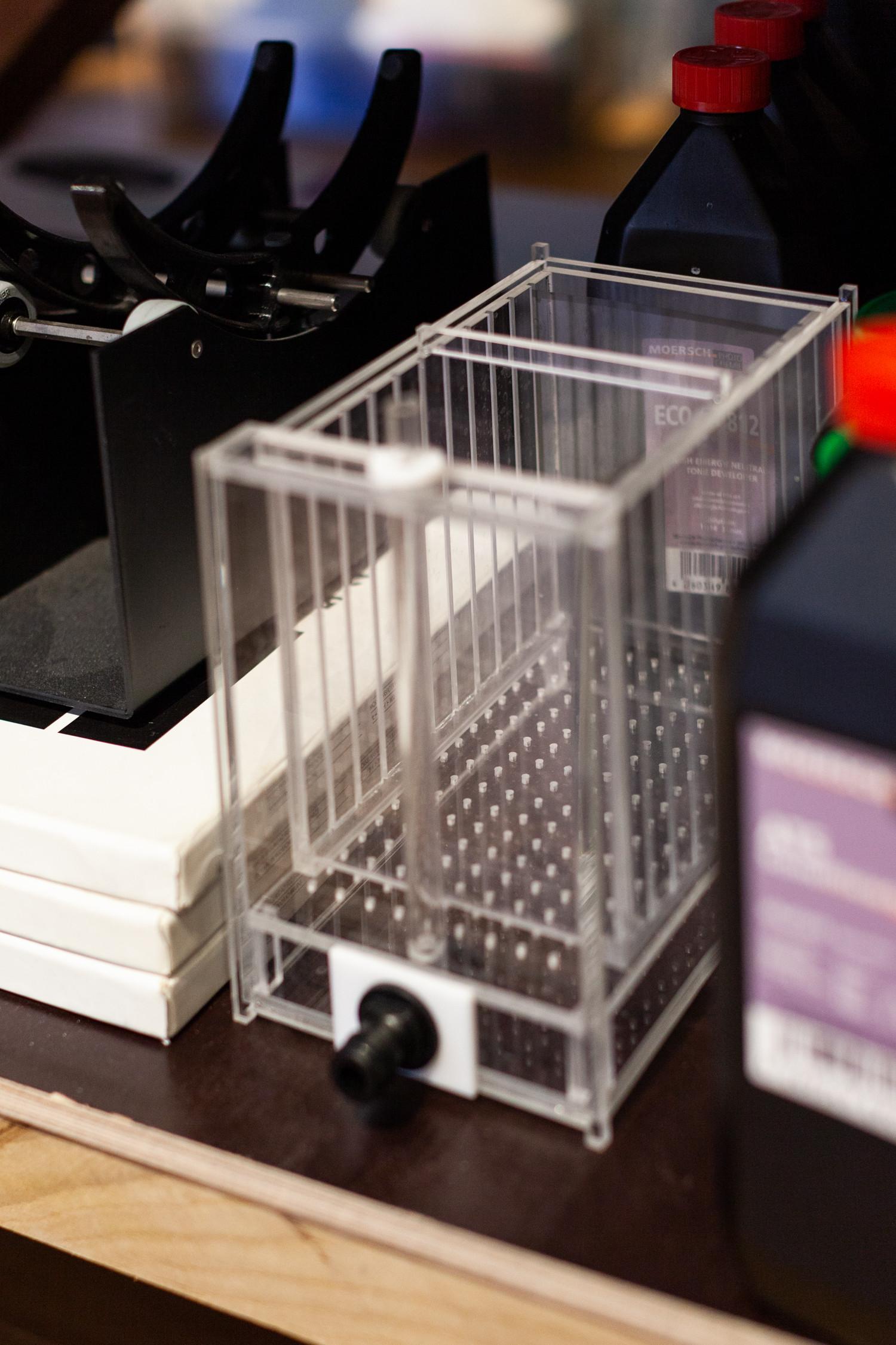 Промывка для листовой плёнки собственной конструкции