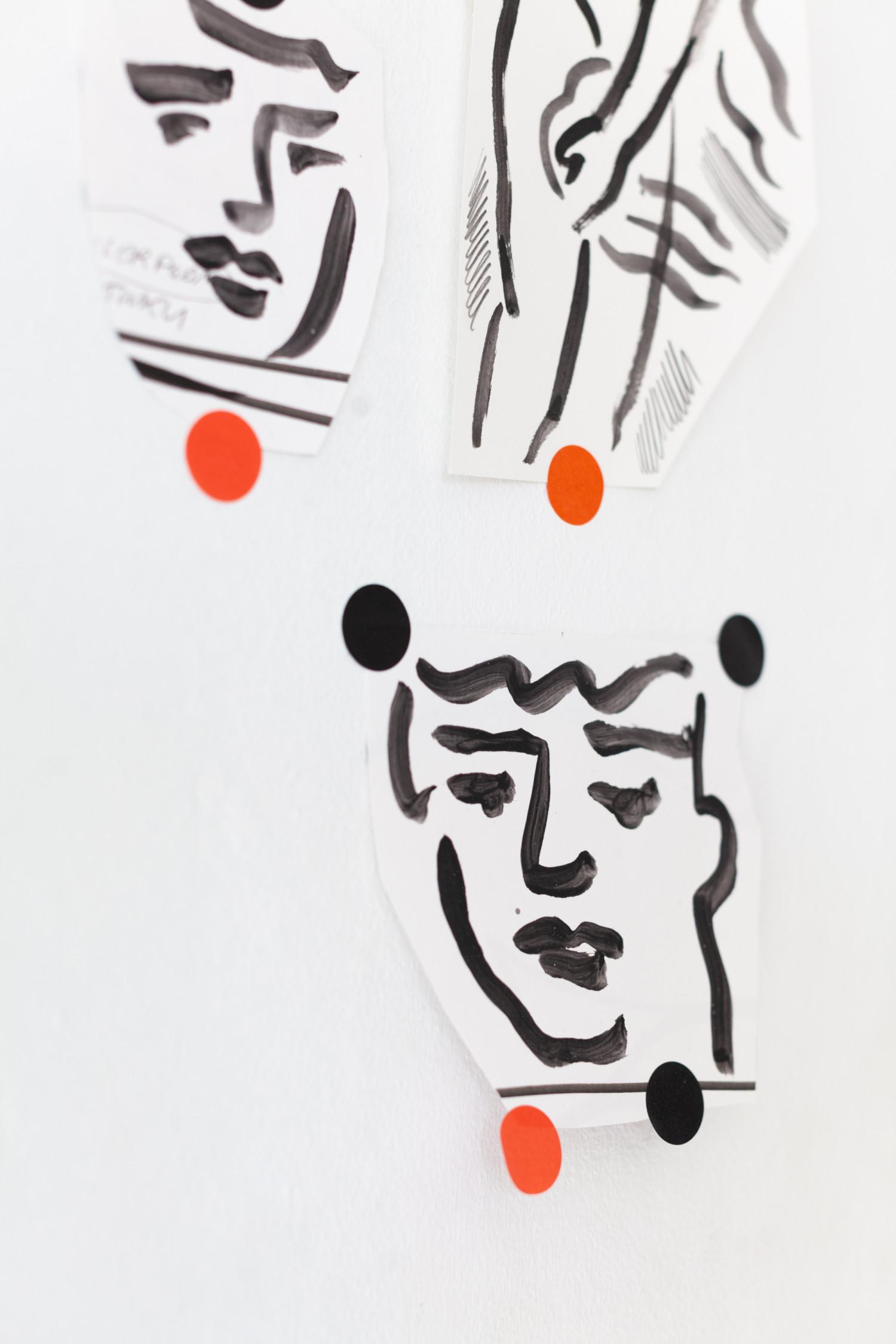Мои эскизы к проекту для Frank Foundation: референсом была моя любимая графика Матисса, а в качестве сюжетов были реплики на произведения классической живописи. Все иллюстрации рисовал вручную и потом сканировал, дико кайфанул в процессе.